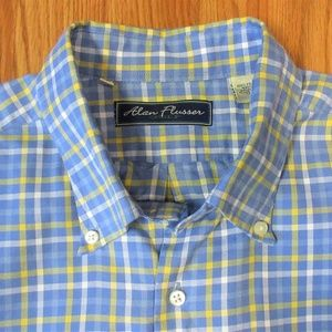 ALAN FLUSSER REGULAR FIT Mens 100% COTTON SHIRT